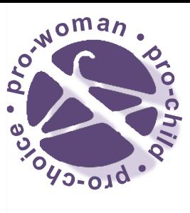 Pro-Woman • Pro-Child • Pro-Choice
